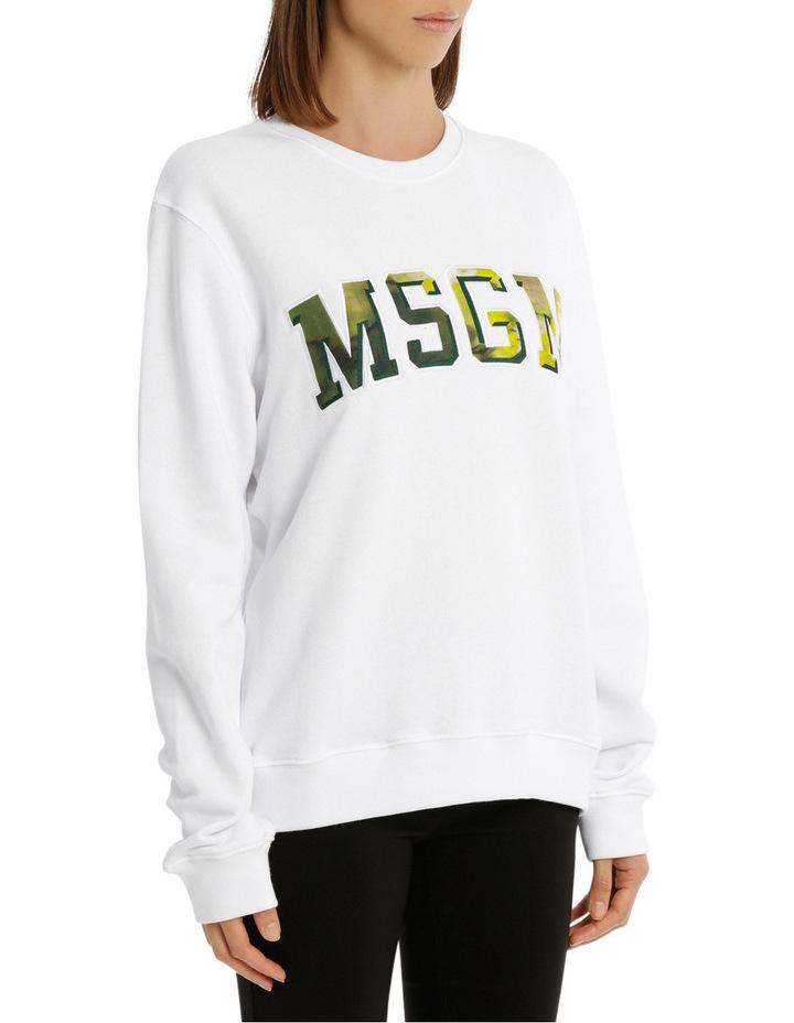 Tie Dye Logo College Sweatshirt image 2