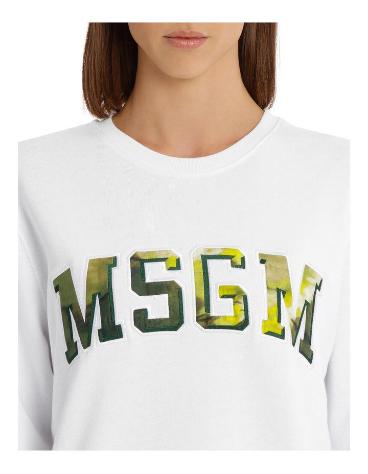 Tie Dye Logo College Sweatshirt image 4