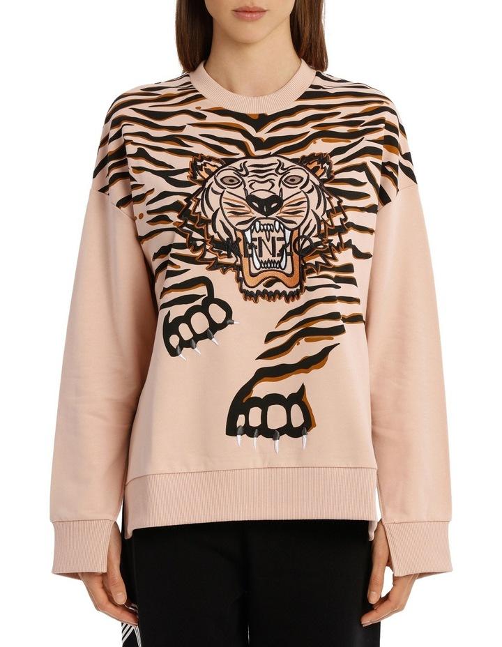 Claw Tiger Relax Slits Sweatshirt image 1