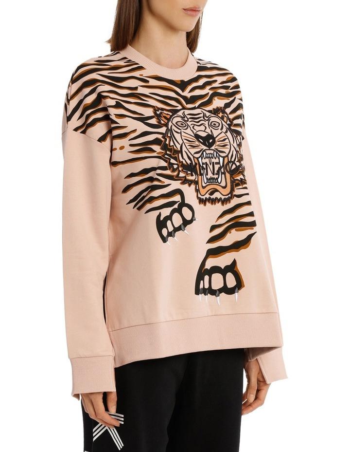 Claw Tiger Relax Slits Sweatshirt image 2