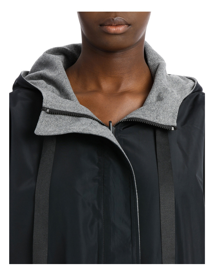 Reversible Hooded Swing Jacket image 4