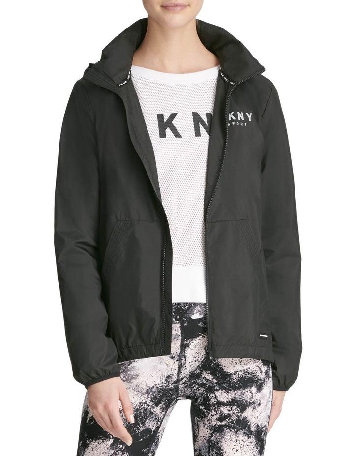 Convertible Hood Jacket With Logo image 2