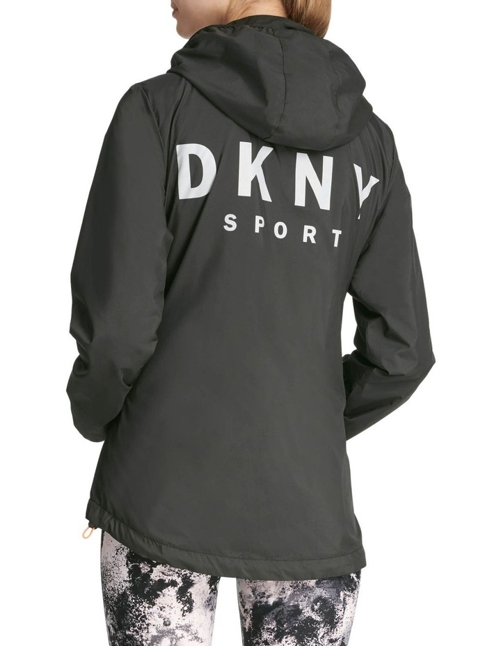 Convertible Hood Jacket With Logo image 3
