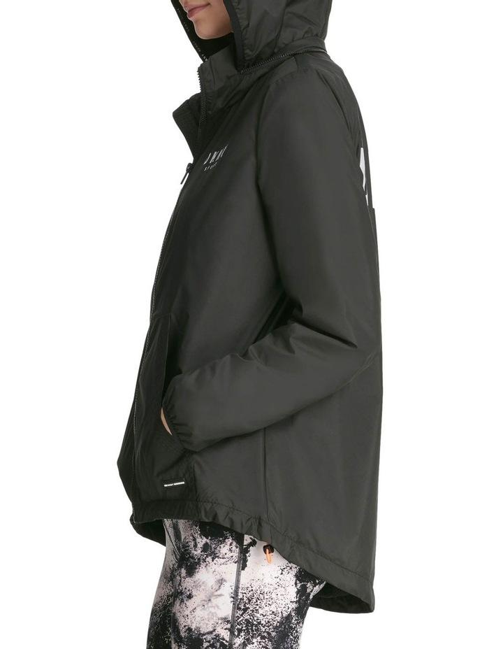 Convertible Hood Jacket With Logo image 4