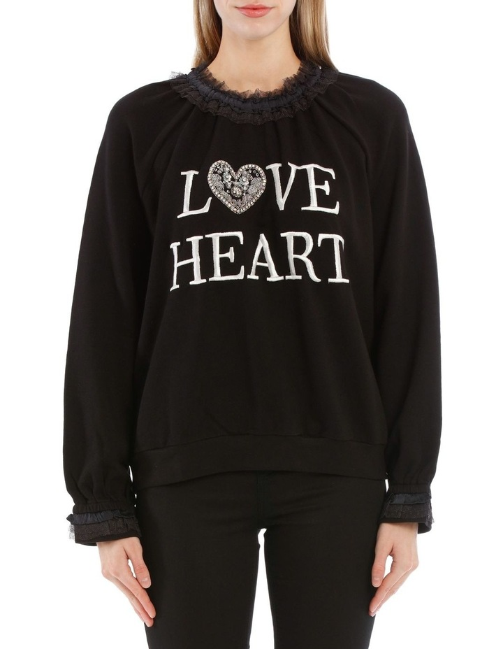 Loveheart Sweat image 1