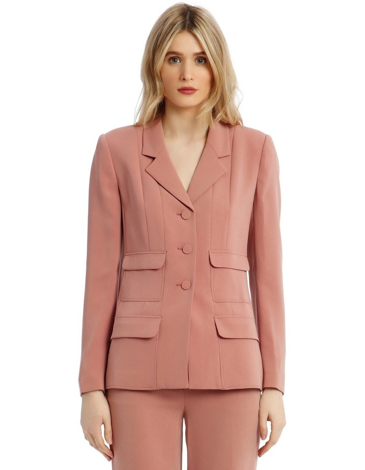 'Joy' Blazer - Rose image 1