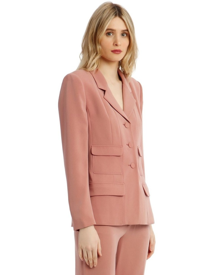 'Joy' Blazer - Rose image 2