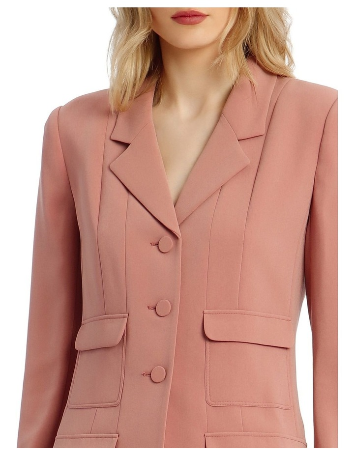 'Joy' Blazer - Rose image 4