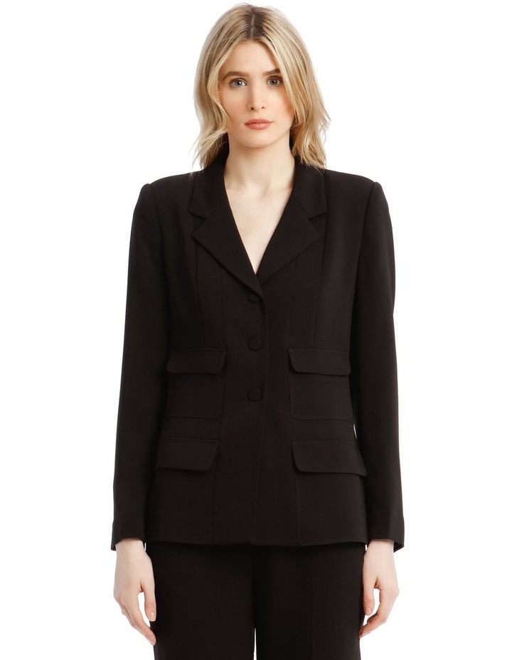 'Joy' Blazer - Black image 1