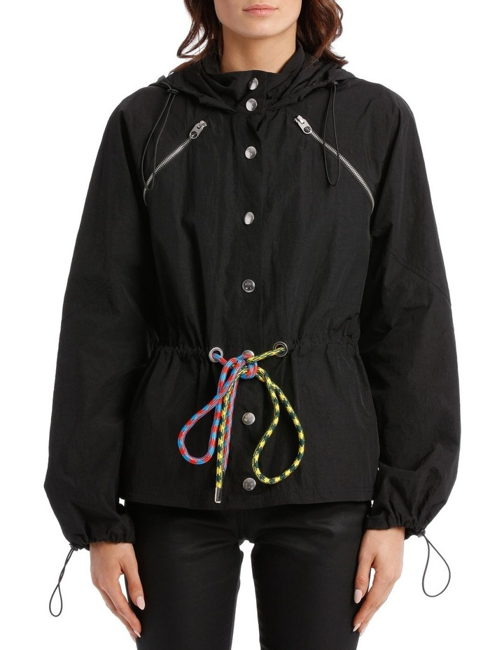 Parachute Drawstring Coat image 4