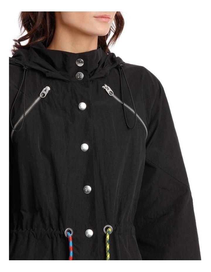 Parachute Drawstring Coat image 5