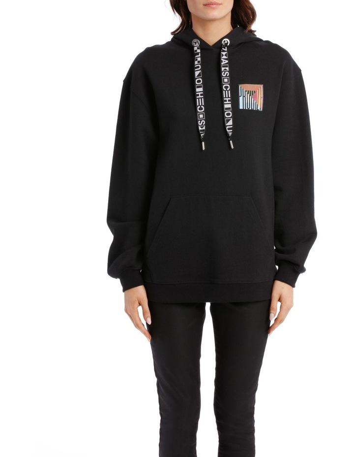 Printed Hooded Sweatshirt Jersey image 1