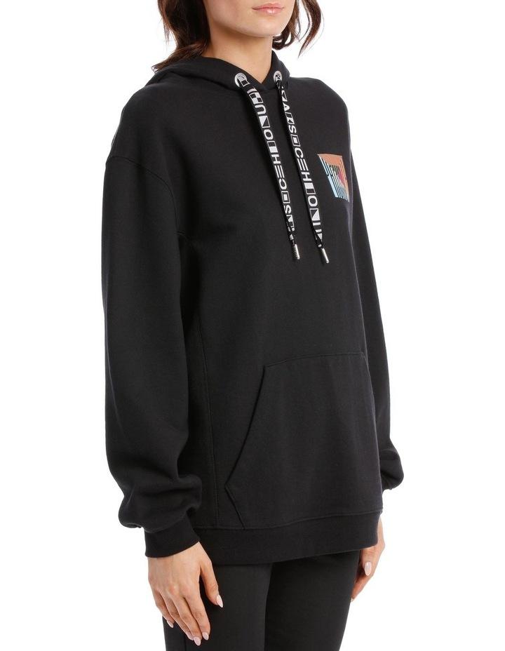 Printed Hooded Sweatshirt Jersey image 2