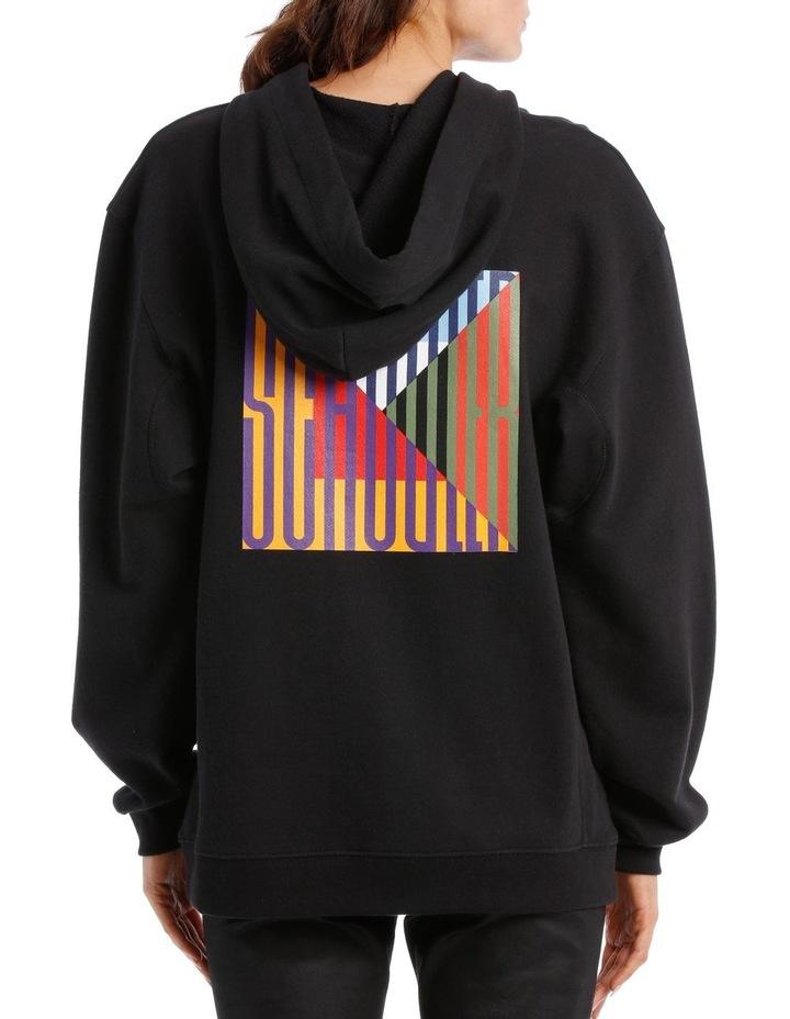 Printed Hooded Sweatshirt Jersey image 3