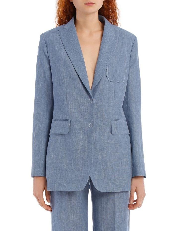Heston Linen Silk Tailoring Jacket image 1