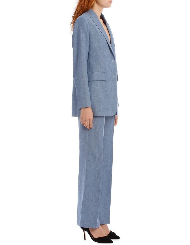 Heston Linen Silk Tailoring Jacket image 2