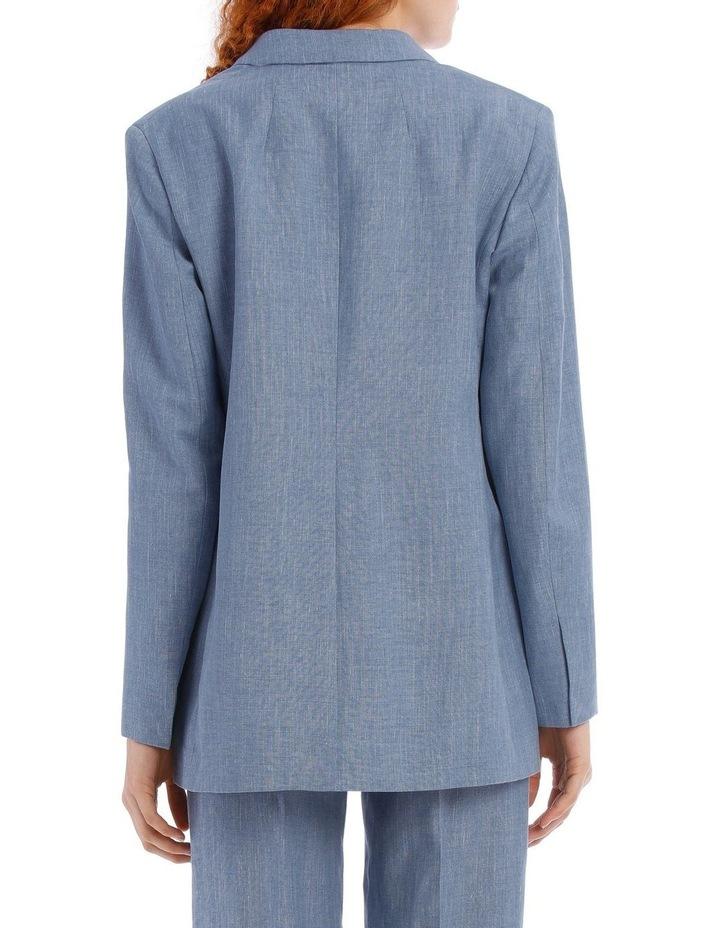 Heston Linen Silk Tailoring Jacket image 3