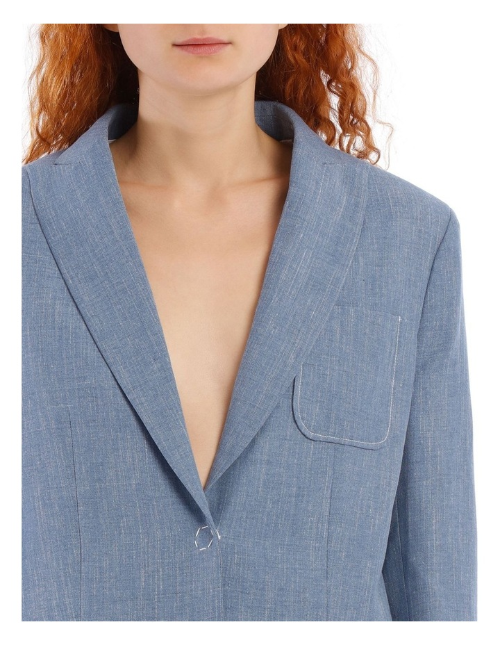 Heston Linen Silk Tailoring Jacket image 4