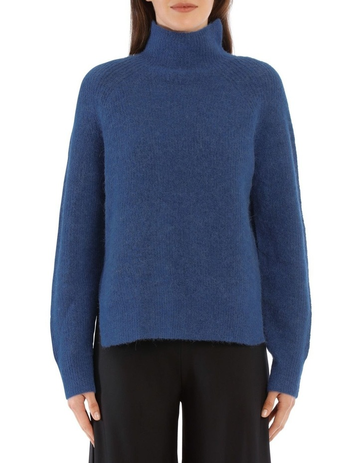 Ribbed-Knit Turtleneck Sweater image 1