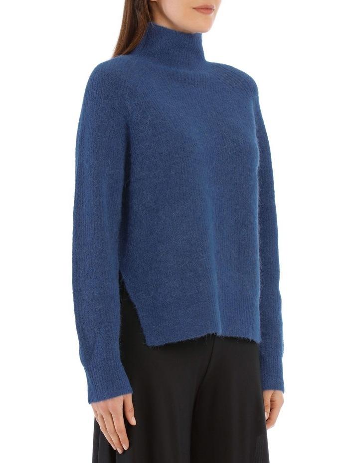 Ribbed-Knit Turtleneck Sweater image 2