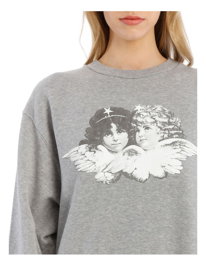 Vintage Angels Sweatshirt image 4