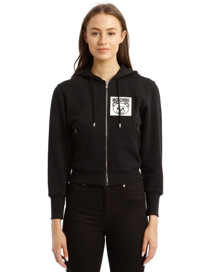 Teddy Label Hooded Jacket image 1