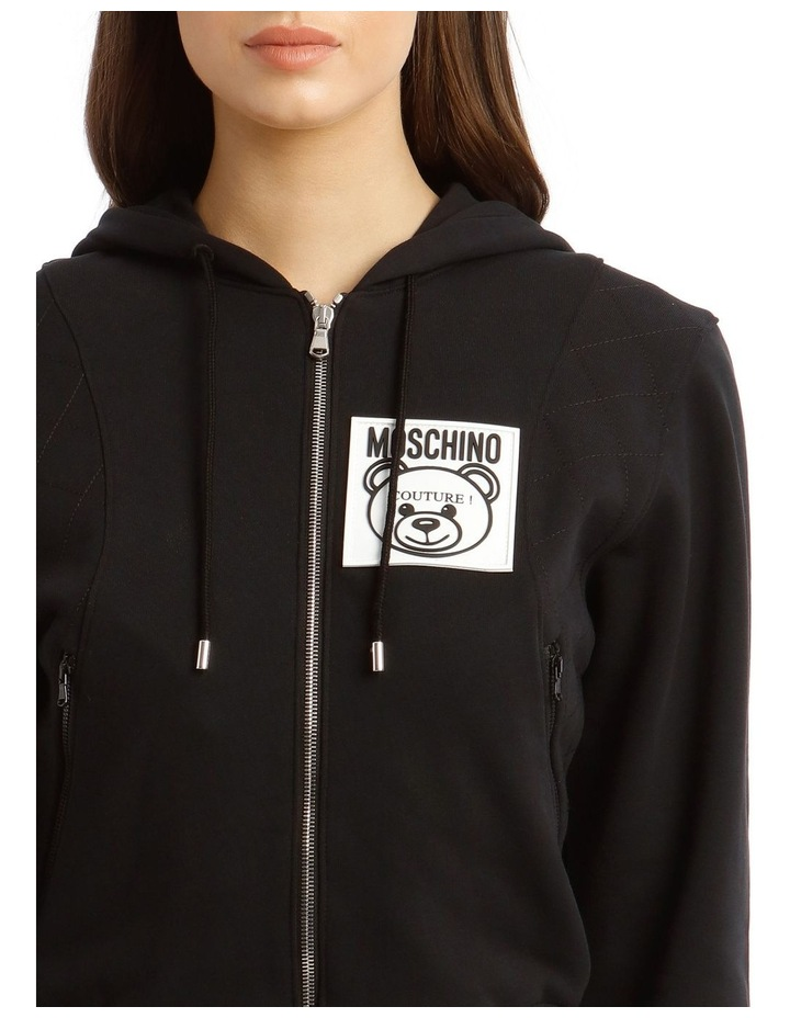 Teddy Label Hooded Jacket image 4