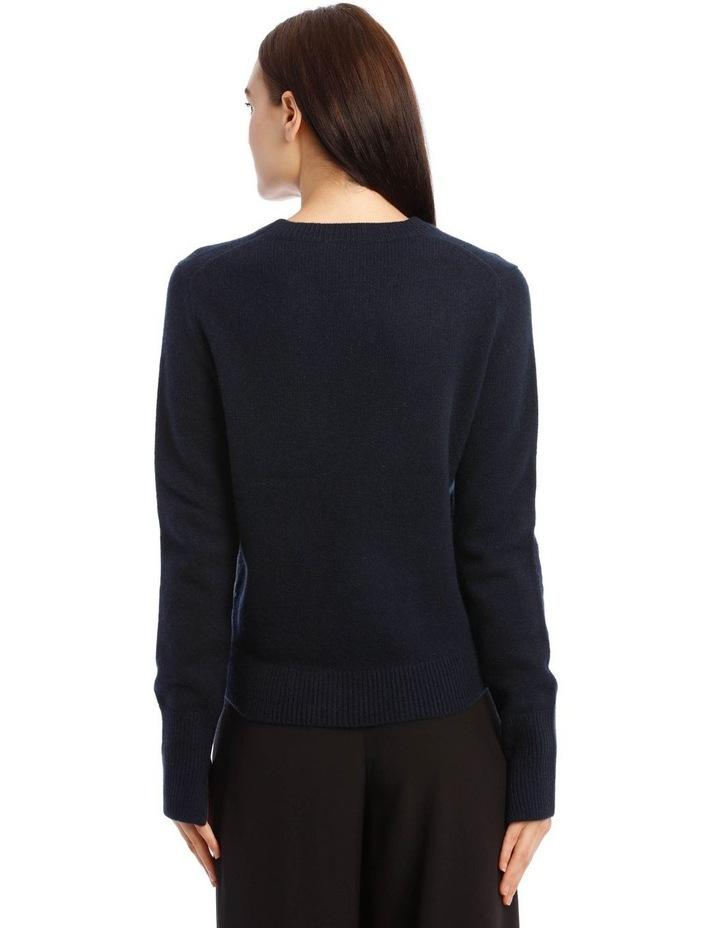 Round Neck Long-Sleeve Knit image 2