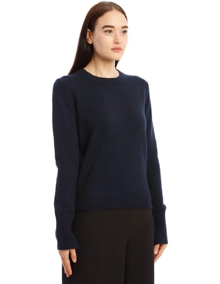 Round Neck Long-Sleeve Knit image 3