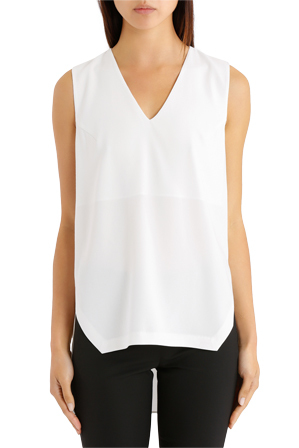 DKNY - Shirt With Layered Open Back