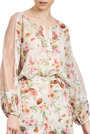 We Are Kindred - Field Bouquet Top