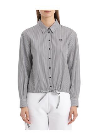Kenzo - Boxy Drawstring Tiger Shirt
