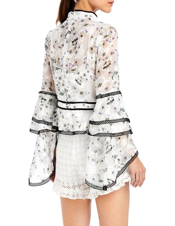 Madison Blouse in White Bouquet image 2