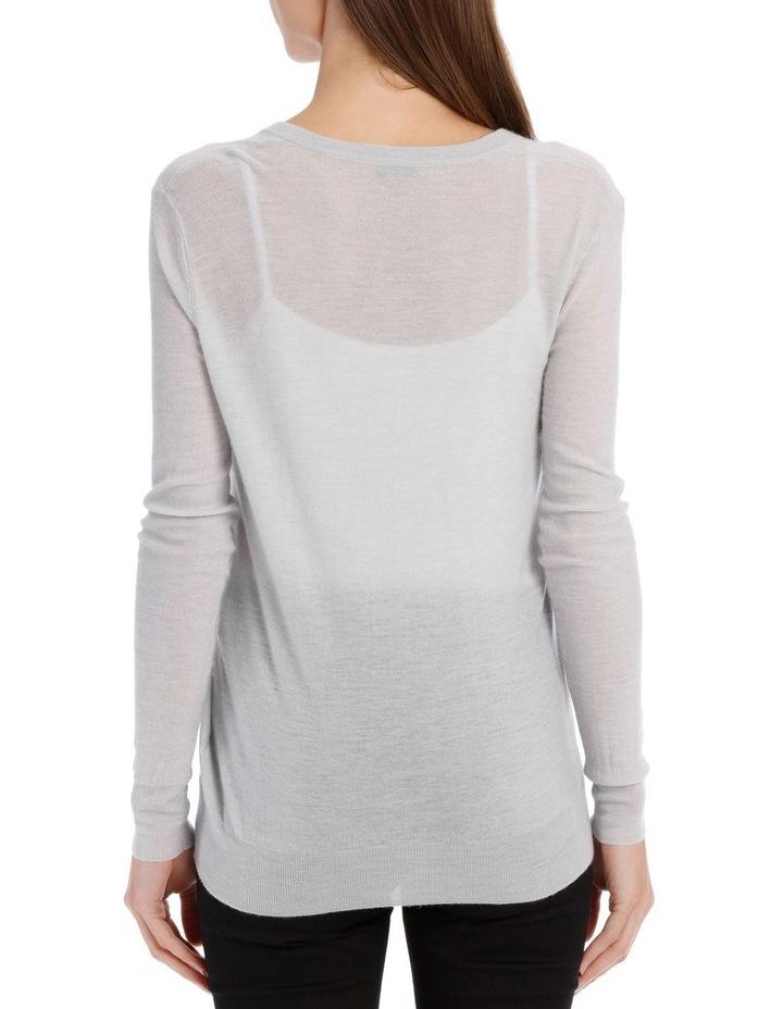 V Nk Ls - Cashair Knitwear image 3