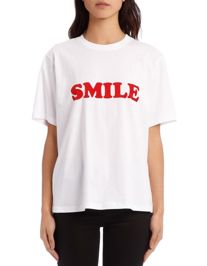 uk availability f6e5b eb868 Victoria by Victoria Beckham Smile T-Shirt