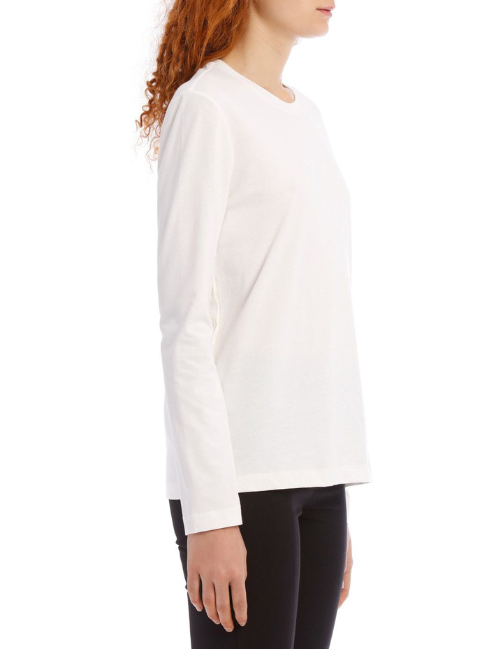Round Neck Long Sleeve Button Jersey image 2