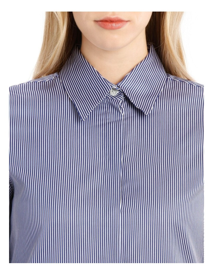 Striped Bow Back Shirt image 4