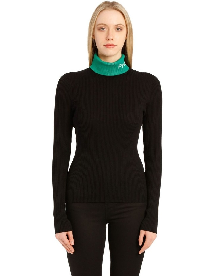 Long Sleeve Knit Turtleneck image 1