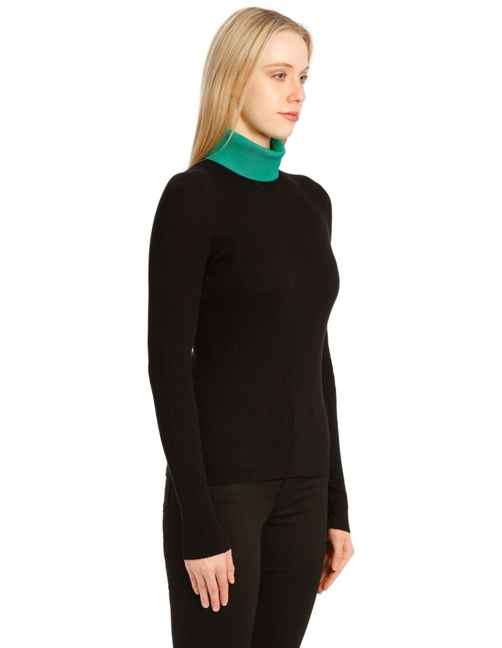 Long Sleeve Knit Turtleneck image 2
