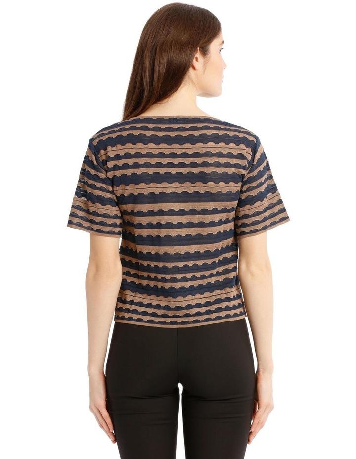 Textured Crop-Cut T-Shirt image 3