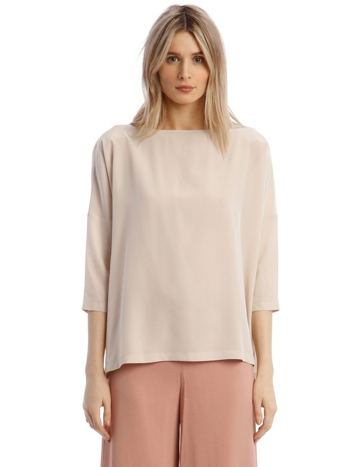 Silk Blouse in Champagne image 1