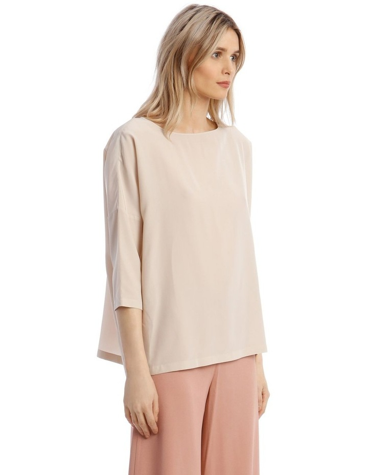 Silk Blouse in Champagne image 2