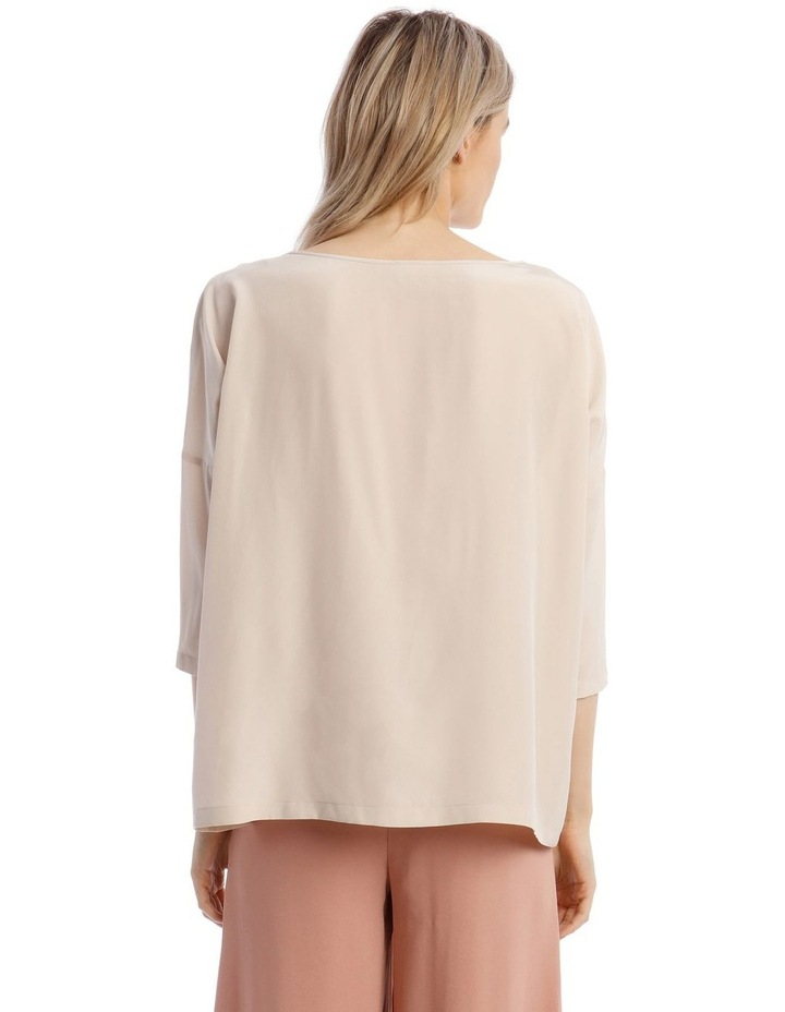 Silk Blouse in Champagne image 3