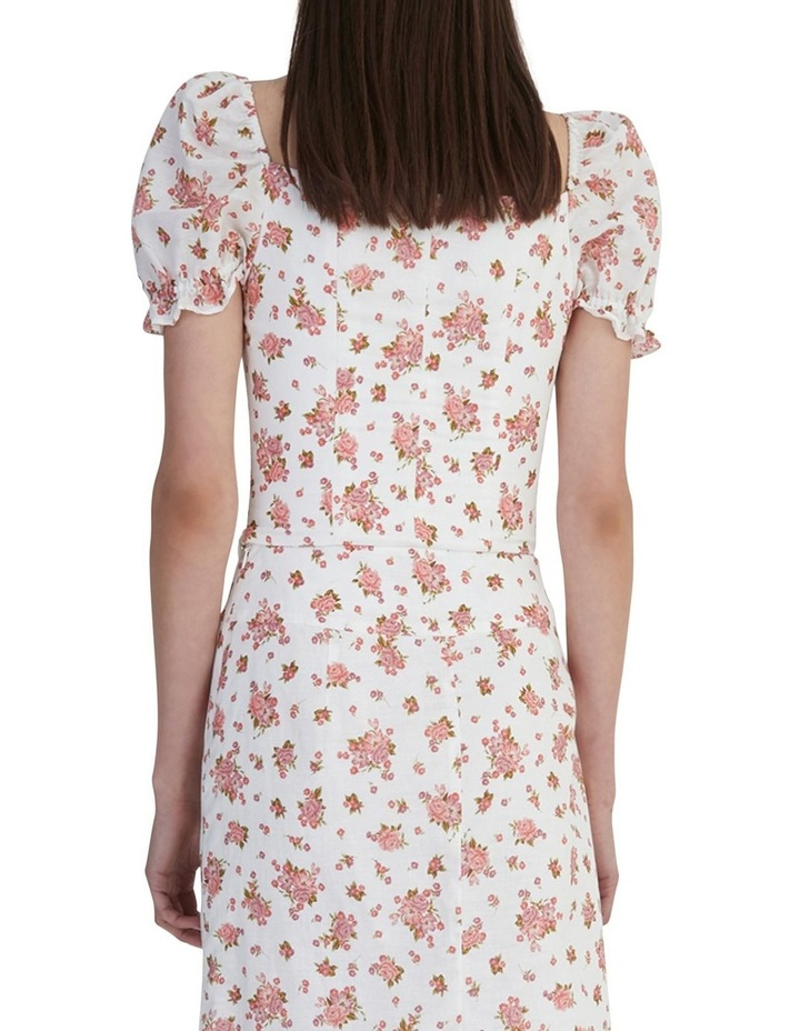 Ruby Jean Top Ivory Floral image 4