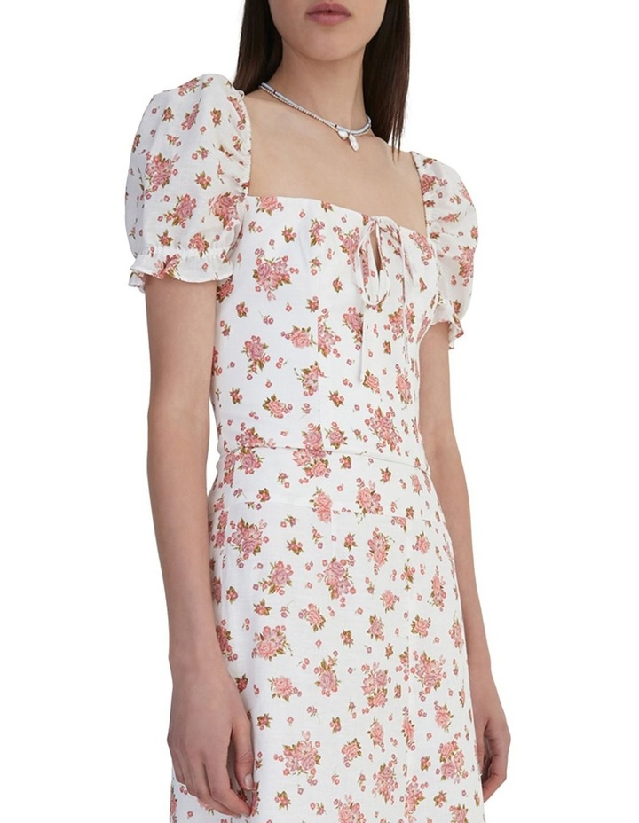 Ruby Jean Top Ivory Floral image 5