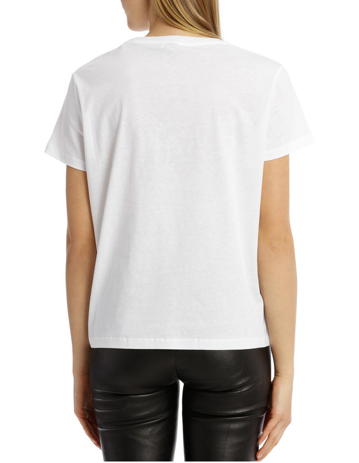 Straight Fitted T-Shirt image 3
