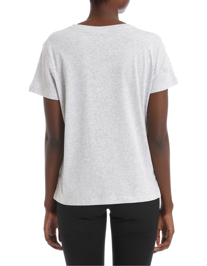 Straight fitted tshirt image 3