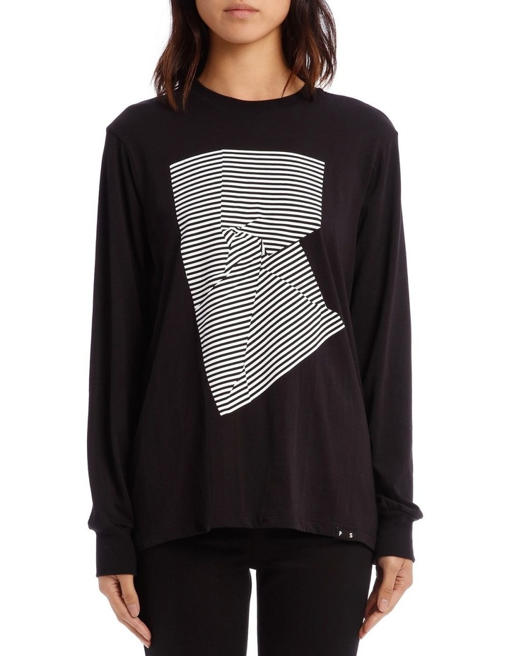 26fb422db PSWL | Long Sleeve T-Shirt Printed Jersey | MYER
