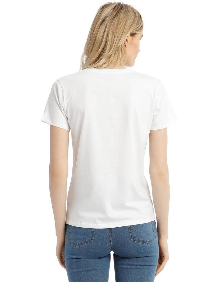 Martini Logo T-Shirt image 3