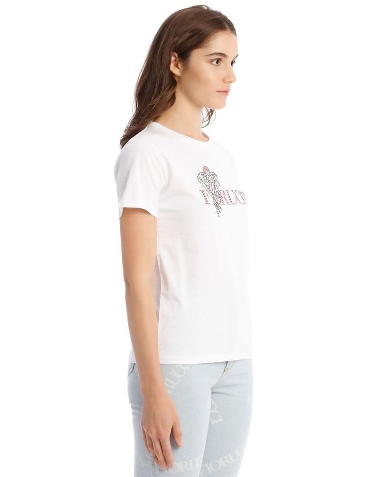 Angel Diamonte White T-Shirt image 2